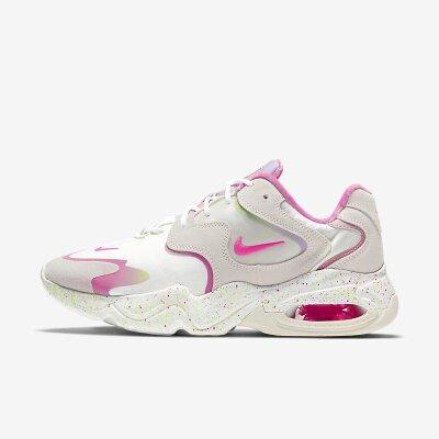 Nike/耐克女鞋2021春季新款低帮运动鞋舒适透气AIR MAX气垫轻便缓震防滑耐磨休闲鞋潮DD8484-161 皮革鞋面,泡棉中底,后跟可见AIR MAX气垫,橡胶大底