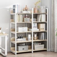【限时直降3折】简易书架置物架落地客厅储物架简约现代组装多功能省空间