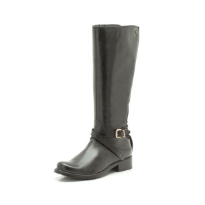 Clarks/其乐女鞋2017秋冬新款英伦时尚休闲长靴Nessa Clare专柜正品直邮