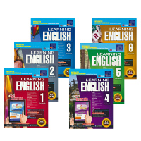 【首页抢券300-100】SAP Learning English Workbook 1-6 学习系列小学英语练习册套装