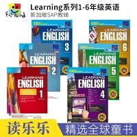 SAP Learning English Workbook 1-6 学习系列小学英语练习册套装 7-12岁 一~六年级