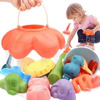 儿童玩沙沙滩玩具套装宝宝洗澡玩沙子挖沙挖土决明子堆城堡工具铲
