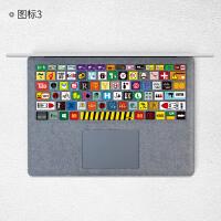 微软Surface Lap键盘贴膜 平板电脑键盘创意保护贴纸