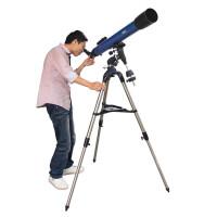 博冠天罡系列90/1000L 90EQ 折射式天文望远镜 正像 观天观景天地两用推荐观看行星