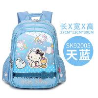 2018新款hello kitty书包 女生儿童小学生护脊1-3-4年级减负减压女孩背包