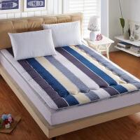 晚歌家纺全棉双面席梦思软床垫子学生宿舍单双人床可折叠床榻床褥子可定做特殊尺寸