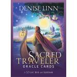 【预订】Sacred Traveler Oracle Cards: A 52-Card Deck and Guideb