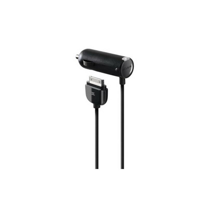 贝尔金 iPod/iPhone/iPad车载充电器,在车内供电和充电 F8Z184ZH