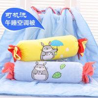 可爱创意糖果抱枕空调被子两用 卡通玩偶公仔抱枕睡觉长枕头抱枕
