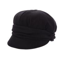 帽子女春夏贝雷帽秋天女士鸭舌帽冬天毛呢八角帽渔夫帽