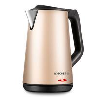 电热水壶304不锈钢热水壶家用烧水壶煮水壶自动断电