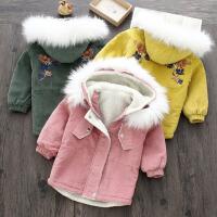冬装新款女童童装儿童上衣
