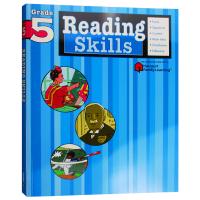 Flash Kids阅读技巧5年级 英文原版 Reading Skills Grade 5 美国小学英语学习辅助Harc