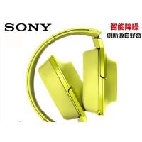 索尼(SONY)MDR-100AAP h.ear系列耳机 炭黑 无线降噪 MDR-100ABN