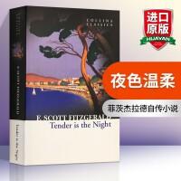 华研原版 英文原版小说 夜色温柔 全英文版进口英语书籍 Collins Classics Tender is the