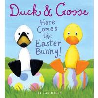 【预订】Duck Goose Here Comes the Easter Bunny 9780375872808