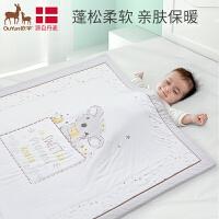 欧孕儿童婴儿被子四季通用空调被薄款纯棉宝宝幼儿园多功能盖被