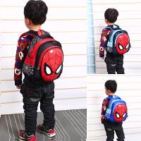 儿童书包男宝宝潮3-5-6岁小班男童可爱小童蜘蛛侠幼儿园书包
