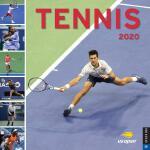英文原版 美国网球公开赛 2020年官方挂历 纳达尔 费德勒 Tennis 2020 Wall Calendar: T