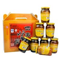【江苏高邮馆】扬州特产 三和四美酱菜375克8瓶礼盒装