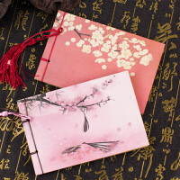 古风线装本本子 中国风笔记本文具创意 复古学生日记迷你小记事本