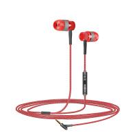 全民k歌手机通用线控耳机 入耳式重低音音乐耳机带麦唱吧金属耳机