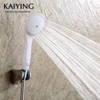 凯鹰 淋浴喷头套装莲蓬头花洒手持淋浴器软管墙座3件套TH1133