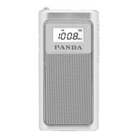 熊�6200充�收音�C老人小型袖珍便�y式迷你半���wfm�V播可充�插卡微型老年人�{�l立�w�唱�蚋枨��蚯�播放器 �y色