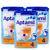 英国直邮 英国Aptamil爱他美婴儿奶粉4段(2-3周岁宝宝)800g【3罐组合】
