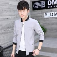 夹克男新款秋季韩版修身棒球服外套男士休闲学生长袖上衣褂子