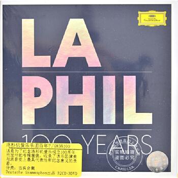 现货 [中图音像][进口CD]洛杉矶爱乐乐团百年艺典 35CD LA Phil Centenary Edition 洛杉矶爱乐乐团百年艺典 35CD LA Phil Centenary Edition