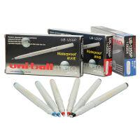 三菱中性笔/UNI 三菱耐水性一次性水笔 UB-125 0.5mm三菱签字笔