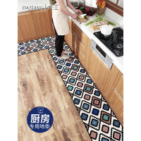 【直降包邮 不能再低了】祥然 家用厨房耐脏吸水吸油定制素色地毯 入户厨房进门地毯厨房长条地垫
