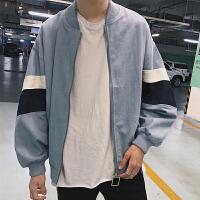 秋冬秋季外套上衣夹克潮男士长袖青春流行韩版夹克衫男装外穿