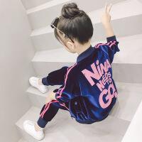 女童秋装运动套装女宝宝衣服洋气