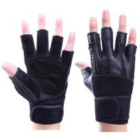 健身手套男士运动手套女单车器械训练哑铃防滑护手掌半指护腕