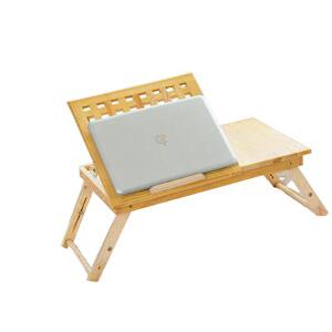 御目 电脑桌折叠笔记本电脑桌书房客厅卧室床上用小桌子宿舍懒人简约书桌学习桌炕桌写字桌饭桌桌子创意家具