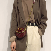 波斯丹顿女士复古百搭链条小香风女包单肩斜挎包BW1192282