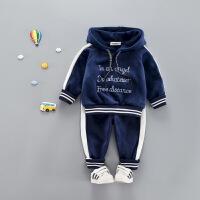 宝宝秋冬装男童套装两件套婴儿衣服