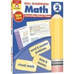 Evan-Moor Skill Sharpeners Math Grade 2 小学二年级数学练习册 美国加州教辅 技