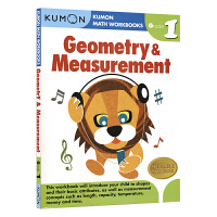 Kumon Math Workbooks Geometry & Measurement Grade 1 公文式教育 几