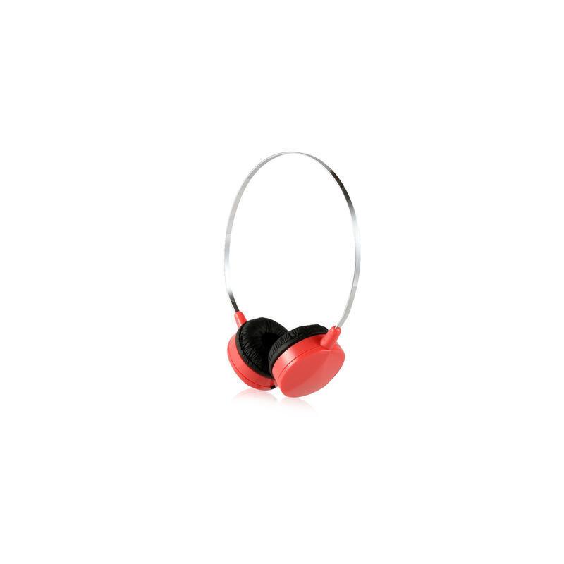 时尚便携线控头戴式耳机 多彩配色 清晰通透 立体声运动防汗 耳机带麦 智能兼容 佩戴舒适