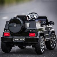 越野儿童电动车四轮越野童车可坐人双驱动宝宝玩具电瓶汽车带遥控儿童节礼物