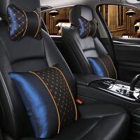 汽车头枕抱枕4四件套两用靠枕腰靠套装车内车上小车枕头一对舒适
