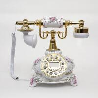 至臻田园可爱电话座机 复古电话机 欧式 仿古电话机 时尚创意礼品