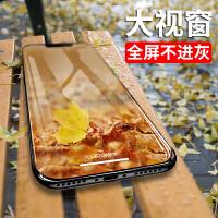 苹果iPhoneXs钢化膜iPhone Xs全屏覆盖Xs Max手机贴膜抗蓝光Plus手机透明玻璃 iPhone X/