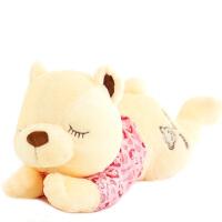 绒智  趴趴熊泰迪熊瞌睡抱抱熊毛绒玩具公仔女生生日礼物 代写卡片