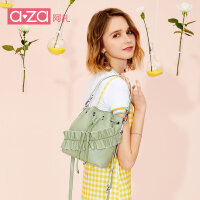 aza阿札chic包包女2019夏季新款潮手提单肩包时尚百搭斜挎水桶包