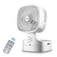 电风扇空气循环扇涡轮静音空气对流扇负离子遥控换气台扇