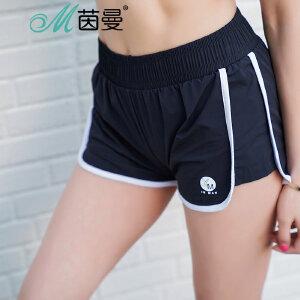 包邮 茵曼内衣 夏季跑步健身瑜伽 透气速干 运动短裤女 9871522144